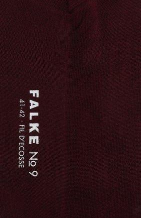 Мужские хлопковые носки FALKE бордового цвета, арт. 14651 | Фото 2