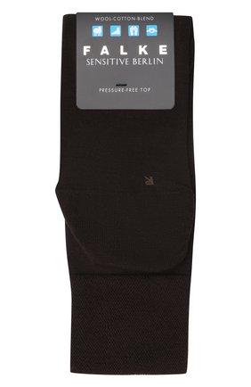 Мужские носки из смеси шерсти и хлопка sensitive berlin FALKE коричневого цвета, арт. 14416 | Фото 1
