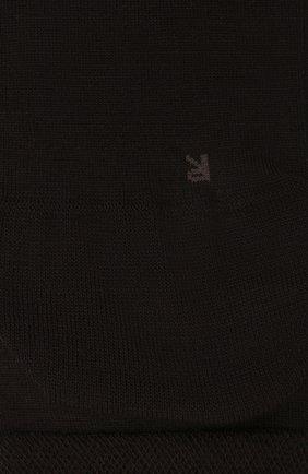 Мужские носки из смеси шерсти и хлопка sensitive berlin FALKE коричневого цвета, арт. 14416 | Фото 2