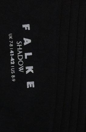 Мужские хлопковые носки shadow FALKE темно-синего цвета, арт. 14648 | Фото 2