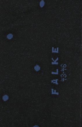 Мужские хлопковые носки FALKE синего цвета, арт. 13269 | Фото 2