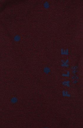Мужские хлопковые носки FALKE бордового цвета, арт. 13269 | Фото 2