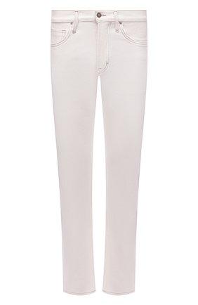 Мужские джинсы прямого кроя TOM FORD белого цвета, арт. BSJ32/TFD002 | Фото 1