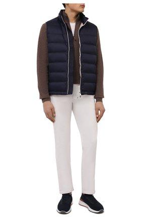 Мужские джинсы прямого кроя TOM FORD белого цвета, арт. BSJ32/TFD002 | Фото 2