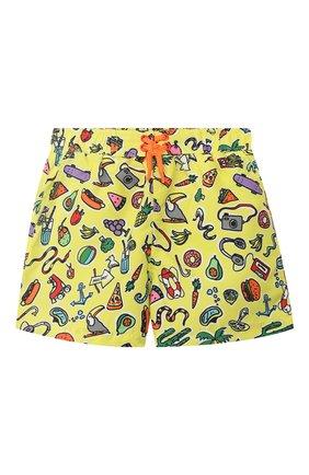 Детского плавки-шорты STELLA MCCARTNEY разноцветного цвета, арт. 540086/SMK21 | Фото 1