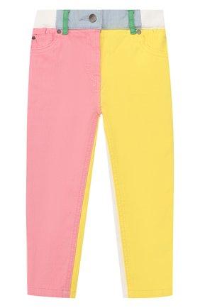 Детские джинсы STELLA MCCARTNEY разноцветного цвета, арт. 539432/SMK27   Фото 1