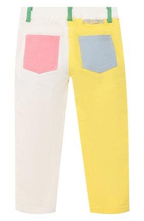Детские джинсы STELLA MCCARTNEY разноцветного цвета, арт. 539432/SMK27   Фото 2