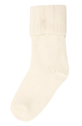 Детские носки из шерсти и хлопка FALKE бежевого цвета, арт. 10408 | Фото 1