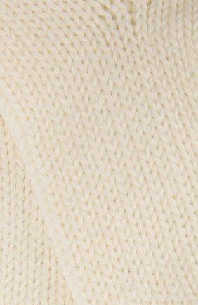 Детские носки из шерсти и хлопка FALKE бежевого цвета, арт. 10408 | Фото 2