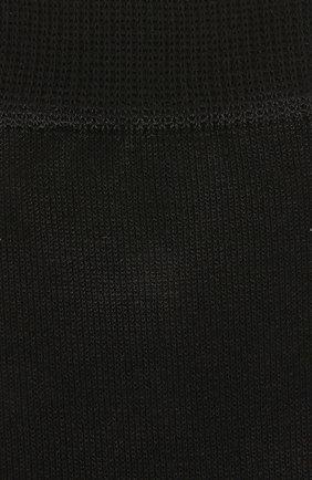 Детские хлопковые носки FALKE черного цвета, арт. 10669 | Фото 2