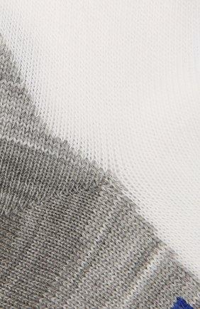Детские хлопковые носки Falke белого цвета | Фото №2