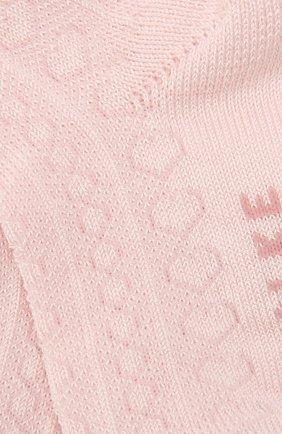 Детские хлопковые носки FALKE светло-розового цвета, арт. 12120 | Фото 2