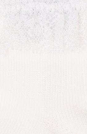 Детские хлопковые носки FALKE белого цвета, арт. 12121 | Фото 2