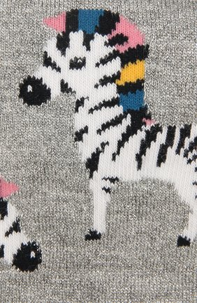 Детские носки FALKE серого цвета, арт. 12189 | Фото 2