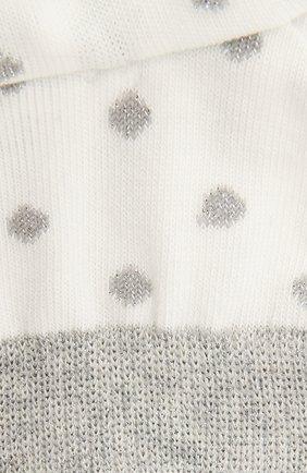 Детские хлопковые носки FALKE бежевого цвета, арт. 12195 | Фото 2