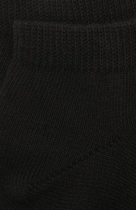 Детские хлопковые носки FALKE черного цвета, арт. 10631 | Фото 2
