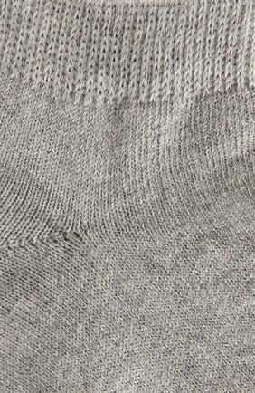 Детские хлопковые носки FALKE серого цвета, арт. 10631 | Фото 2