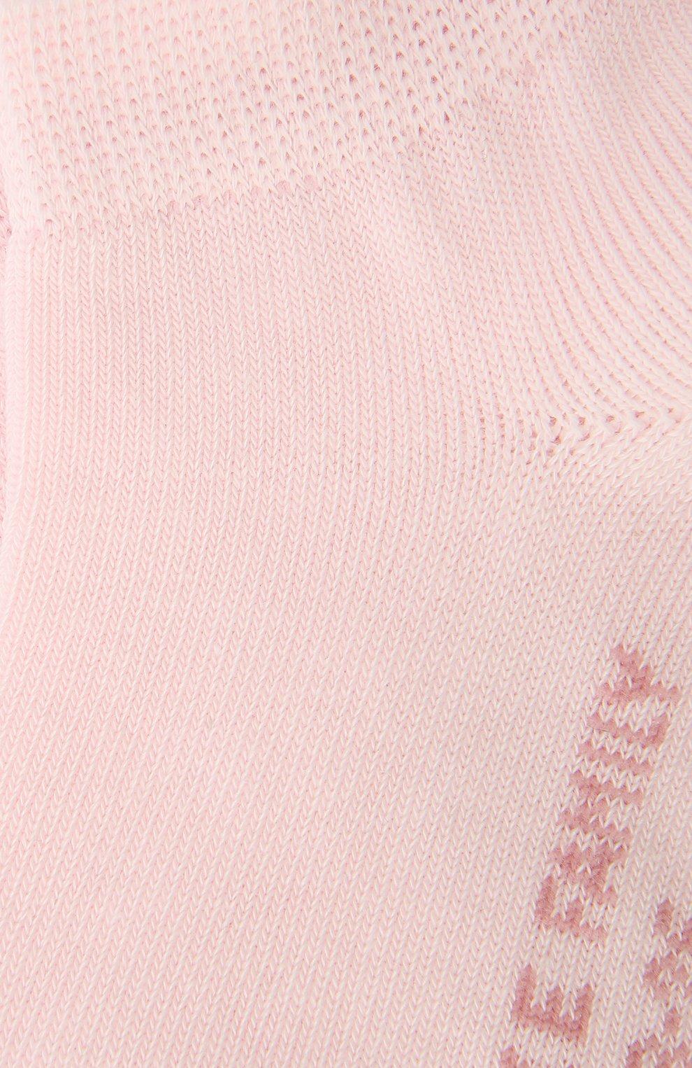 Детские хлопковые носки FALKE розового цвета, арт. 10631 | Фото 2 (Материал: Текстиль, Хлопок; Статус проверки: Проверено, Проверена категория)