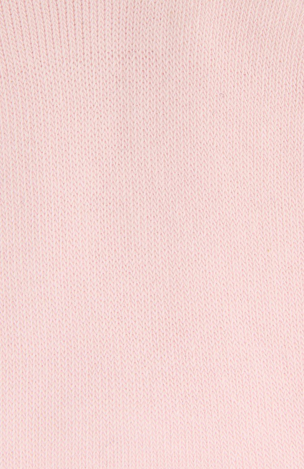 Детские хлопковые носки FALKE светло-розового цвета, арт. 10645 | Фото 2