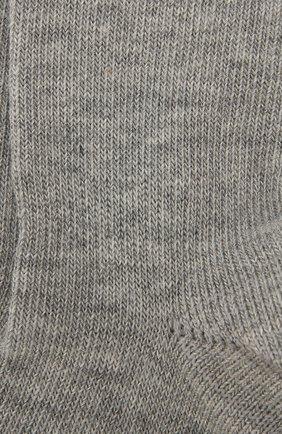 Детские хлопковые носки FALKE серого цвета, арт. 10626 | Фото 2