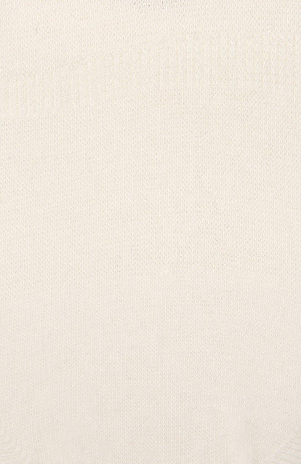 Детские хлопковые носки FALKE бежевого цвета, арт. 10694 | Фото 2