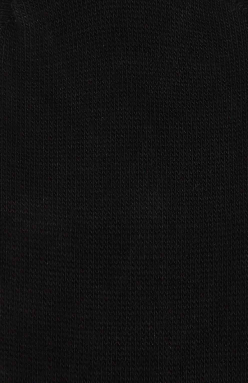 Детские хлопковые носки FALKE черного цвета, арт. 10694 | Фото 2
