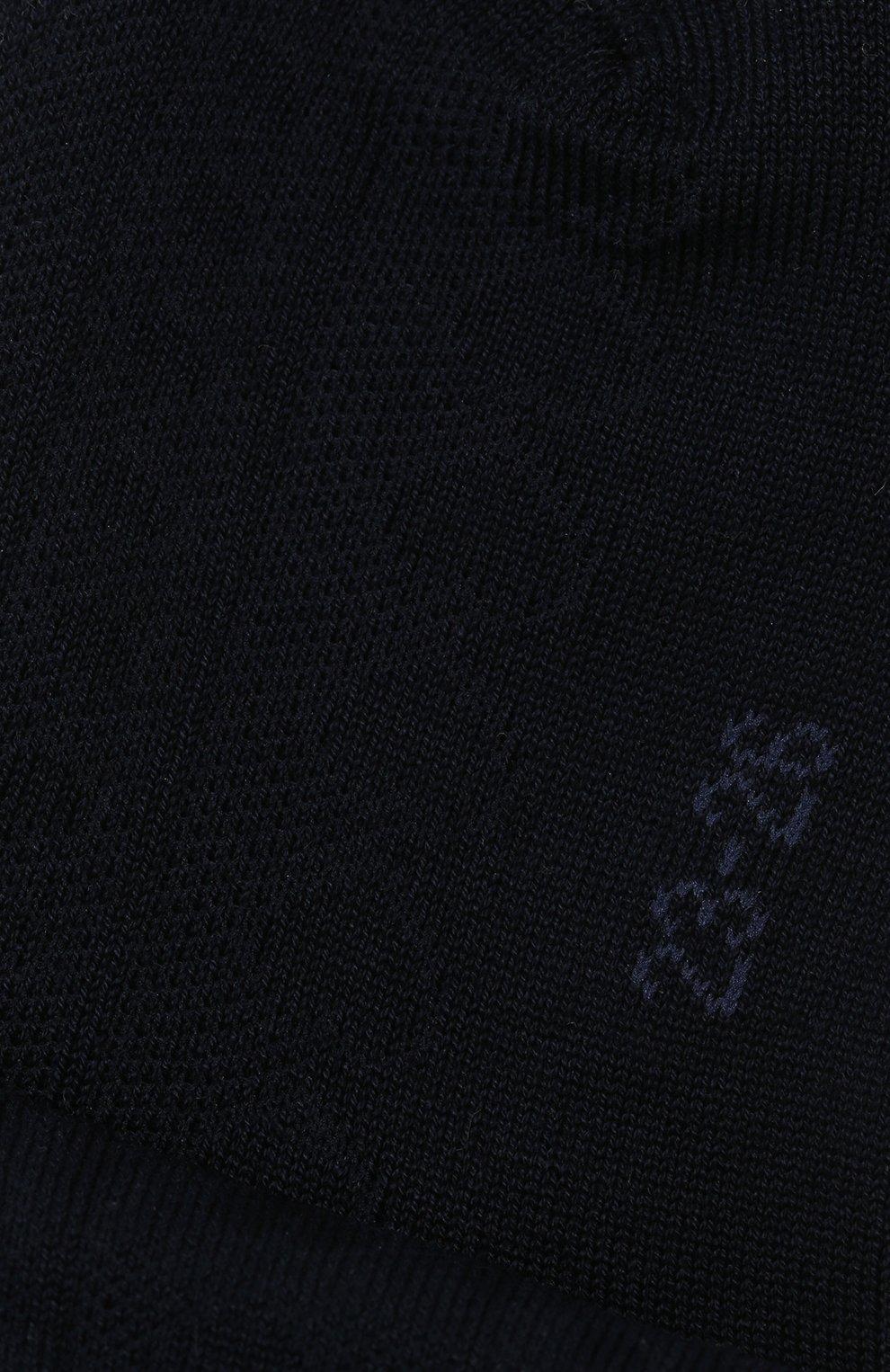 Детские хлопковые носки FALKE темно-синего цвета, арт. 12140 | Фото 2