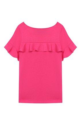 Детский топ из хлопка и вискозы POLO RALPH LAUREN розового цвета, арт. 312735821 | Фото 2