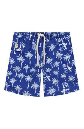 Детские плавки-шорты POLO RALPH LAUREN синего цвета, арт. 322737531 | Фото 1