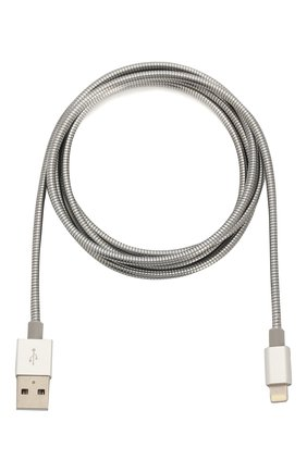 Мужской кабель mfi lightning-usb UBEAR серебряного цвета, арт. DC06SL01-L | Фото 1