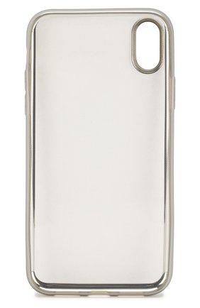 Мужской чехол для iphone xr UBEAR серебряного цвета, арт. CS36SL01-I18 | Фото 2
