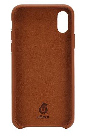 Мужской чехол для iphone x/xs UBEAR коричневого цвета, арт. CS41TN01-I18 | Фото 2