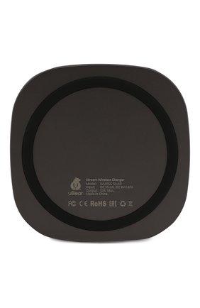 Мужская беспроводное зарядное устройство stream wireless charger 10w UBEAR серого цвета, арт. WL01SG10-AD | Фото 2