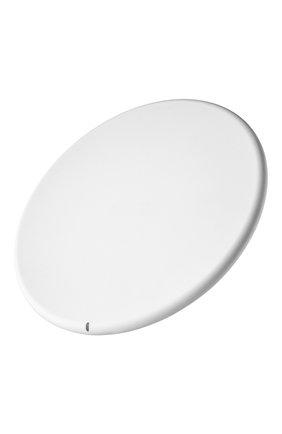 Мужская беспроводное зарядное устройство flow wireless charger 10w UBEAR белого цвета, арт. WL02WH10-AD | Фото 2