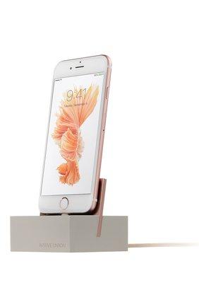 Подставка для iPhone с кабелем | Фото №1