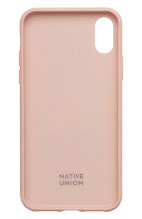 Мужской чехол для iphone x/xs NATIVE UNION розового цвета, арт. CMARQ-ROSE-NP18S | Фото 2