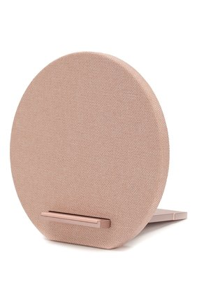 Мужская беспроводное зарядное устройство qi 10w NATIVE UNION розового цвета, арт. DOCK-WL-FB-ROSE | Фото 2