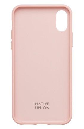 Мужской чехол для iphone xs max NATIVE UNION розового цвета, арт. CCAV-ROSE-NP18L | Фото 2