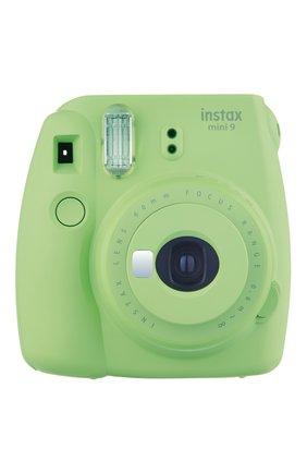 Мужская фотоаппарат fujifilm instax mini 9 green lime INSTAX зеленого цвета, арт. 4547410349481 | Фото 1