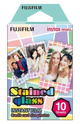 Мужская фотопленка fujifilm instax mini stained glass 10 INSTAX разноцветного цвета, арт. 4547410197020 | Фото 1
