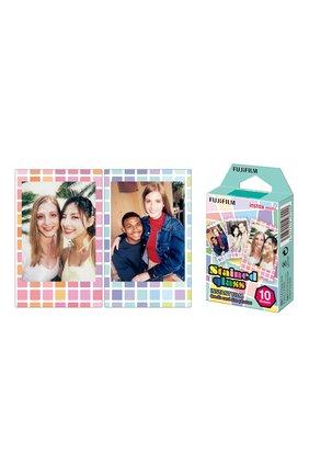 Мужская фотопленка fujifilm instax mini stained glass 10 INSTAX разноцветного цвета, арт. 4547410197020 | Фото 2