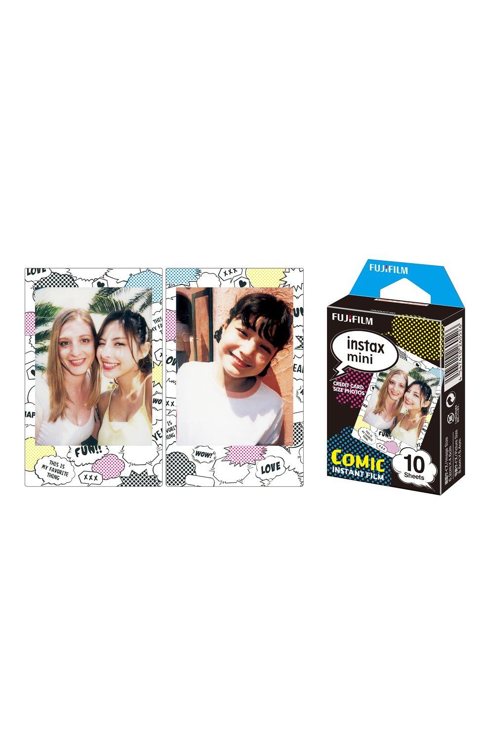 Фотопленка fujifilm instax mini comic 10 INSTAX разноцветного цвета, арт. 4547410260526 | Фото 2