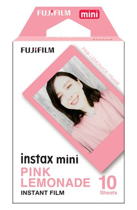 Мужская фотопленка fujifilm instax mini pink lemonade 10 INSTAX разноцветного цвета, арт. 4547410374094 | Фото 1