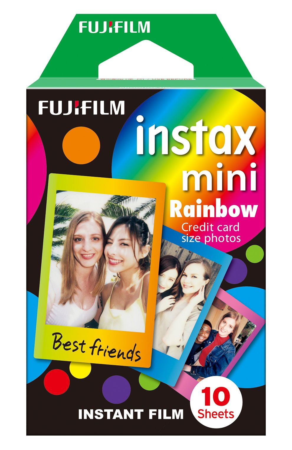 Фотопленка fujifilm instax mini rainbow INSTAX разноцветного цвета, арт. 4547410225754 | Фото 1