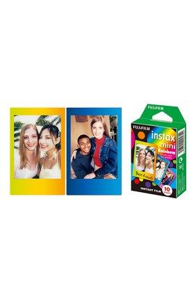 Мужская фотопленка fujifilm instax mini rainbow INSTAX разноцветного цвета, арт. 4547410225754 | Фото 2