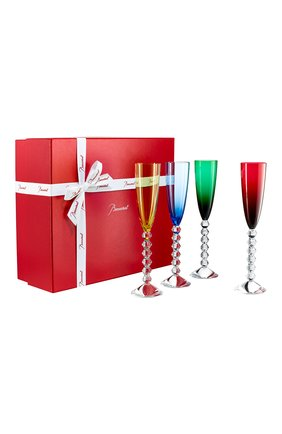 Набор из 4-х фужеров для шампанского Vega Baccarat  | Фото №1