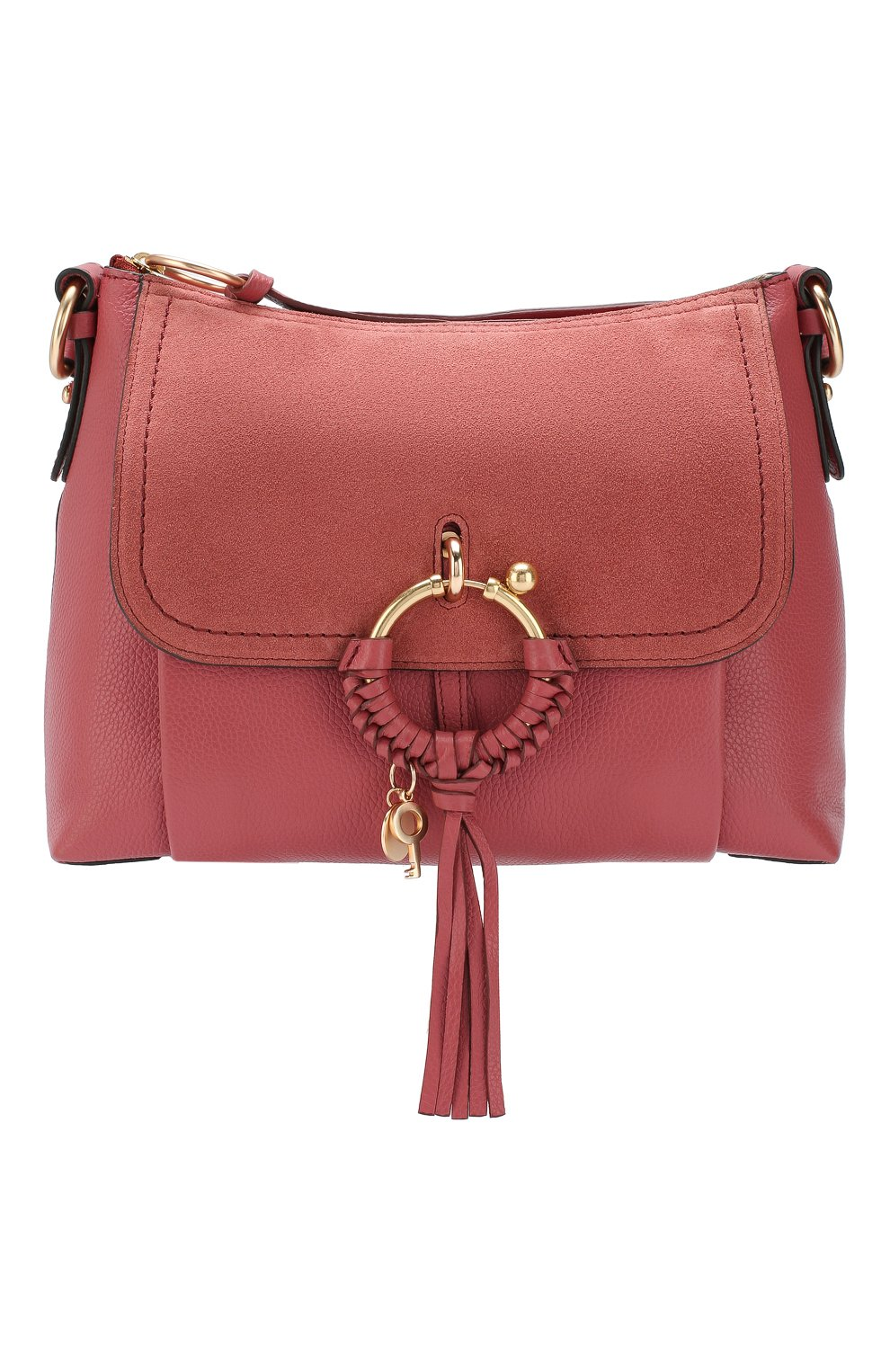 Женская сумка joan small SEE BY CHLOÉ розового цвета, арт. CHS17US910330 | Фото 1