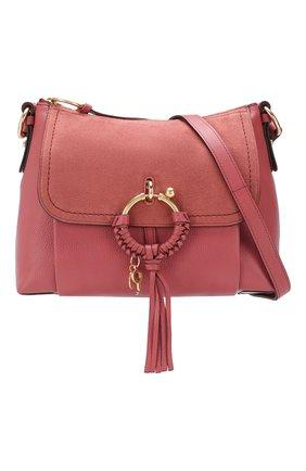 Женская сумка joan small SEE BY CHLOÉ розового цвета, арт. CHS17US910330 | Фото 5
