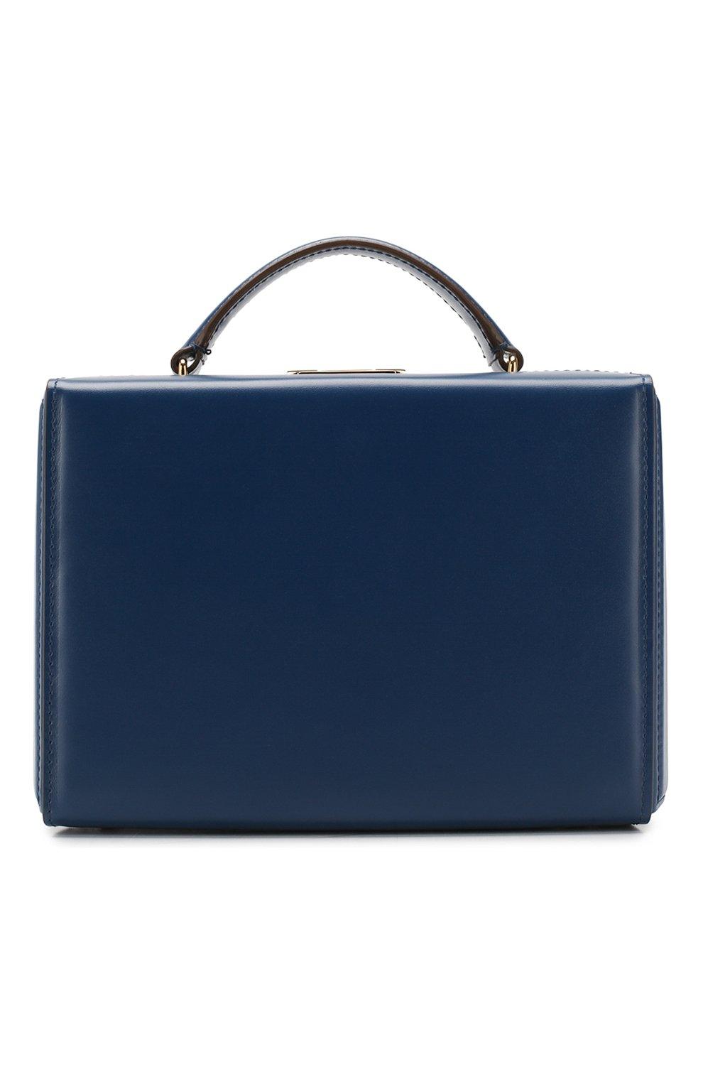 Женская сумка grace small box MARK CROSS темно-синего цвета, арт. W108153G | Фото 1