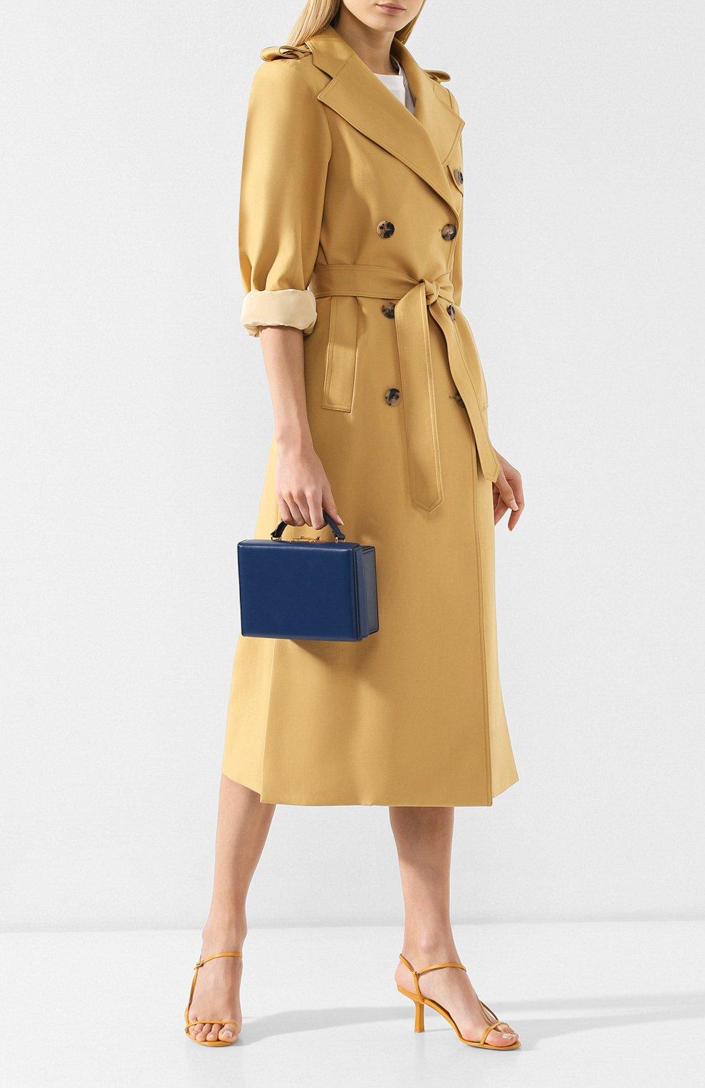 Женская сумка grace small box MARK CROSS темно-синего цвета, арт. W108153G | Фото 2